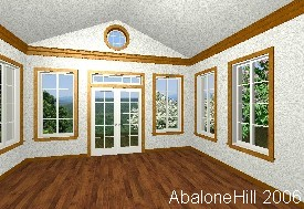 3D Rendering, Family Room