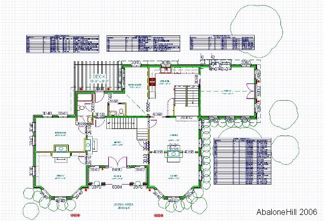 Floor plan and Schedules